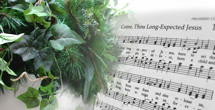 """Come, Thou Long-Expected Jesus"" is a prayer we can enter into during Advent and throughout the year. Image by Kathryn Price, United Methodist Communications."