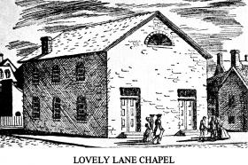 The Christmas Conference was held at Lovely Lane Chapel in Baltimore, Maryland.
