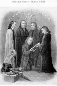Philip Otterbein participated in the ordination of Francis Asbury.