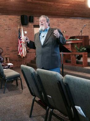 The Rev. R. Scott Miller has been a youth minister for more than 20 years. Courtesy: Rev. R. Scott Miller.