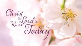 """Christ the Lord Is Risen Today"" was written by Charles Wesley."