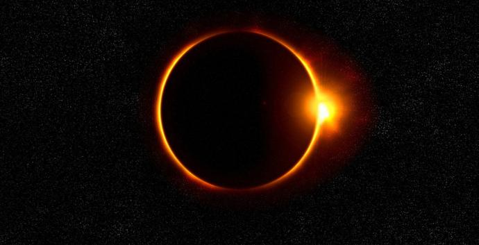 A solar eclipse is a beautiful reminder of God's presence. Photo Creative Commons, CCO via pixabay.com.
