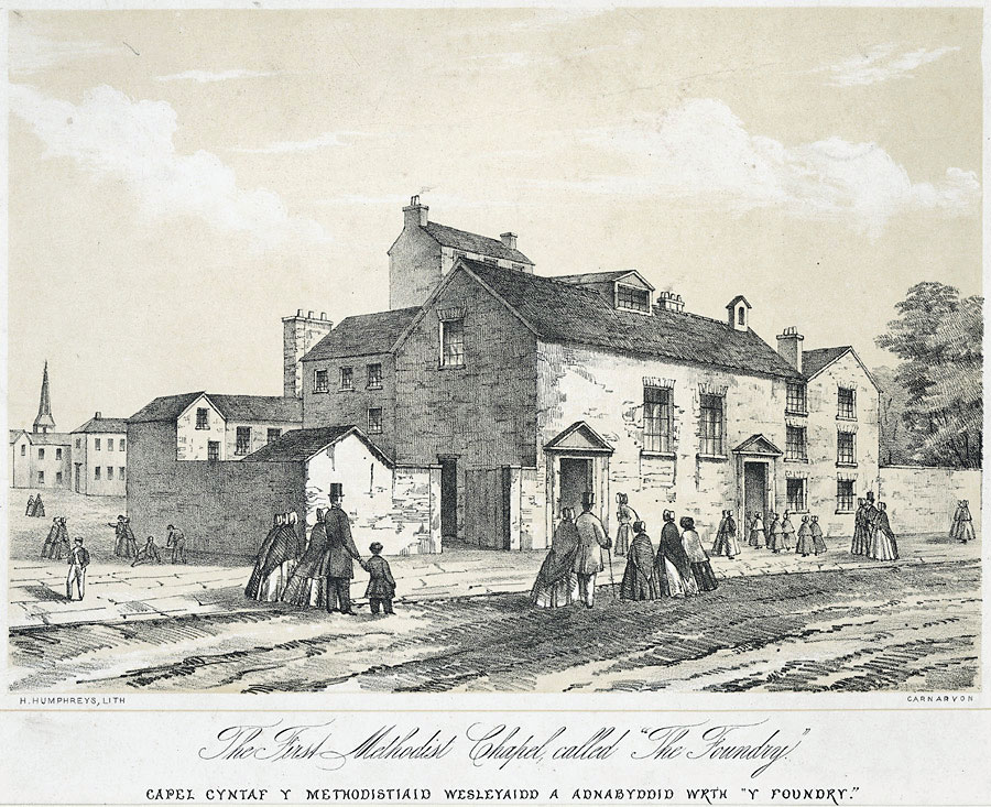 The Foundry, the first Methodist building.