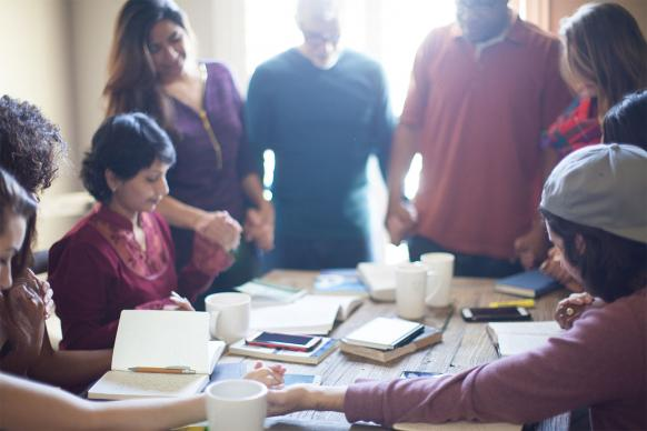 Lent is a great season to start or expand a small group ministry — either face-to-face or online — and introduce new participants. Image by Pearl, Lightstock.com.
