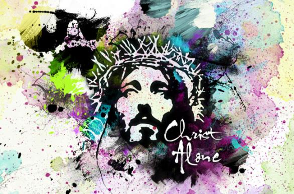 Image of Christ with crown of thorns. Image by Stephen Burton, CreationSwap.com.