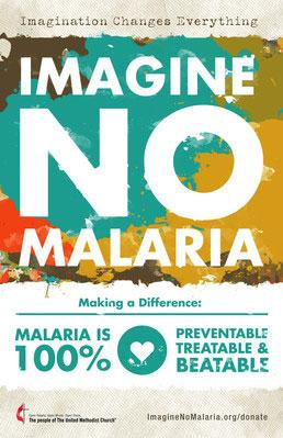 Imagination changes everything; imagine no malaria.