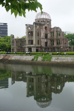 The Atomic Bomb Dome serves as a memorial to the people who died in the atomic bombing of Hiroshima, Japan, in 1945. The building was the only structure left standing near the bomb's hypocenter.Photo by Diane Degnan, United Methodist Communications