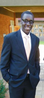 Albart Wani is one of more than 450 students earning their  degrees in 2014 from Africa University located in Mutare, Zimbabwe.  Photo courtesy of Africa University