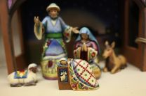 Nativity figures photographed for stock images. Photo by Kathleen Barry, UMNS