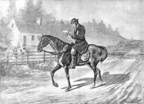 William Taylor was a circuit rider in Virginia. Image courtesy of the General Commission on Archives and History.