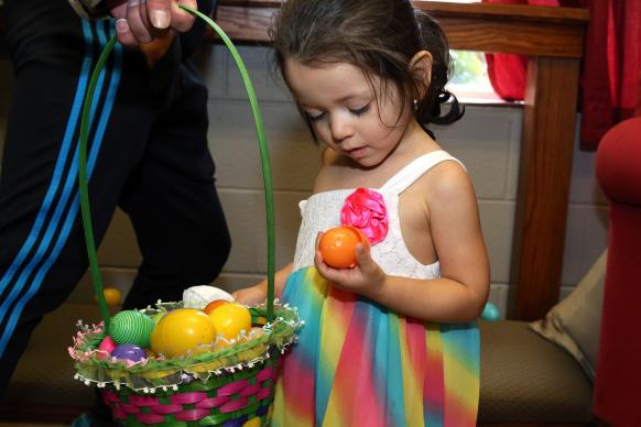 2016 Easter egg hunt at Hillcrest United Methodist Church in Nashville, Tenn. Photo by Kathleen Barry, United Methodist Communications