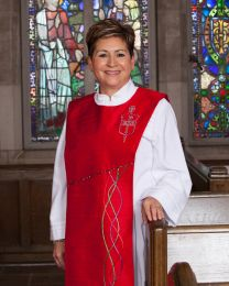 Bishop Cynthia Fierro Harvey, elected to the episcopacy in 2012, serves the Louisiana Episcopal Area. Portrait taken in Aldrich Chapel at First United Methodist Church, Baton Rouge, La. Photo by Troy Kleinpeter. Accompanies UMNS story #057.  2/29/13.; Photo by Troy Kleinpeter