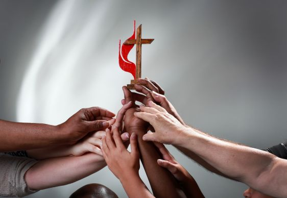 Unity in the United Methodist Church. Photo illustration by Kathleen Barry, United Methodist Communications