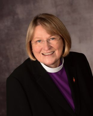 Bishop Rosemarie Wenner. Photo courtesy of the Council of Bishops. Accompanies UMNS story #306. 11/11/13.; An official web-only portrait courtesy of the Council of Bishops