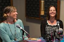 Authors Jenny Youngman and Kara Oliver have written books to help families begin devotions in the home. Photo by Mike DuBose, United Methodist Communications.