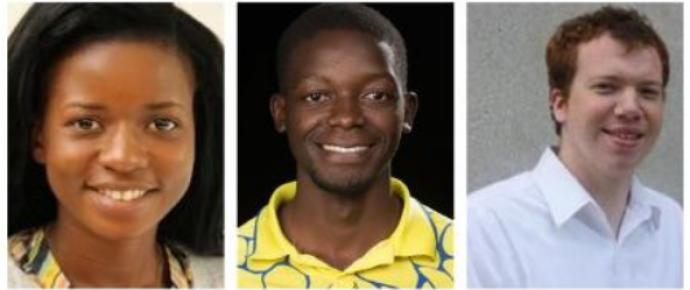 The Council of Bishops has asked the Philippines government to release UMC missionaries (l-r) Miracle Osman, Tawanda Chandiwana, Adam Shaw.