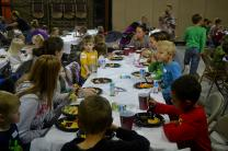 Deployed spouses dinnerr - families