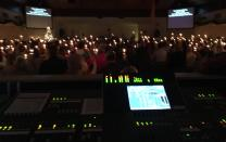 The live stream of Killearn United Methodist Church's Christmas Eve service allowed a woman spending the night in a hospital with her mother to connect with her church family.