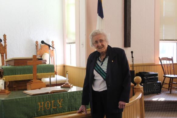 Viola Reed, 101, took her first mission trip when she was 72.