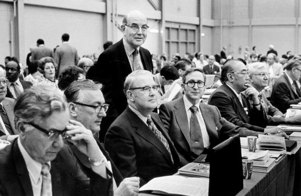The first public debate on homosexuality began at the 1972 General Conference, four years after the Methodist and Evangelical United Brethren churches united to form The United Methodist Church.