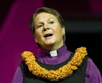 Bishop Mary Ann Swenson reports on the work of the United Methodist Council on Finance and Administration to the 2008 General Conference.