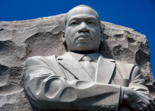 Memorial to the Rev. Martin Luther King Jr. is located in Washington, D.C. Photo by Maile Bradfield.