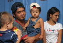 One-year-old Joshua Flores receives free treatment for tuberculosis at United Methodist Mary Johnston Hospital in Manila, Philippines. As one of the country's few missionary hospitals, Mary Johnston accepts all patients regardless of race, creed or ability to pay.