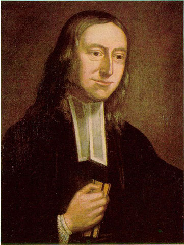 John Wesley portrait from 1771.