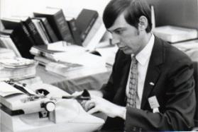 Tom McAnally at 1972 General Conference