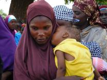 Nigeria - mother and child at Mutum Byu Clinic