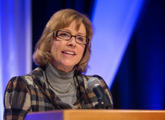 Judi Kenaston chairs the Commission on General Conference, which is responsible for planning the May 10-20 event in Portland, Oregon.