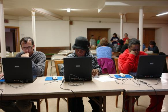 Whether it is helping bring broadbend access to the community or inviting people to use church-owned computers, providing digital access can be a vital ministry. Summerfield United Methodist Church in Milwaukee is among churches that have adopted it.