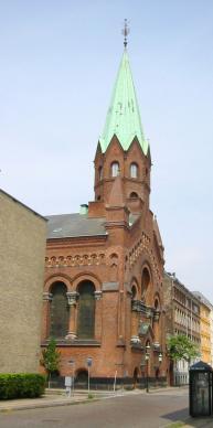 Jerusalemskirken in Copehagen has the largest and oldest United Methodist congregation in Denmark.