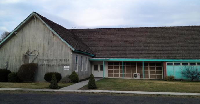 The building of Kahlotus Community United Methodist Church remains a place of service -- even though the church has closed.
