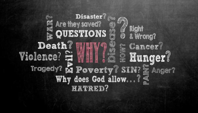 Difficult questions people ask illustration by Cindy Caldwell, UMC.org.