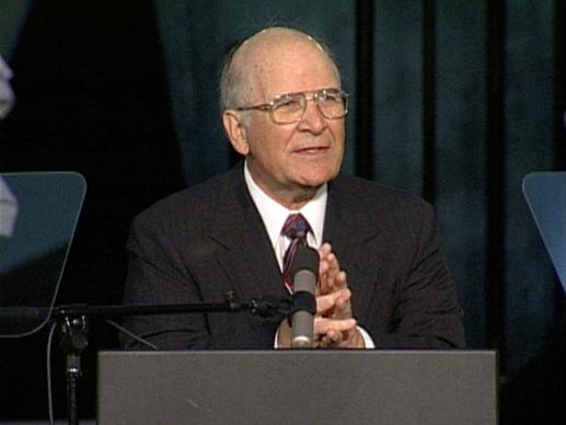 General Conference 2004: Bishop Blake. Video still by United Methodist Communications