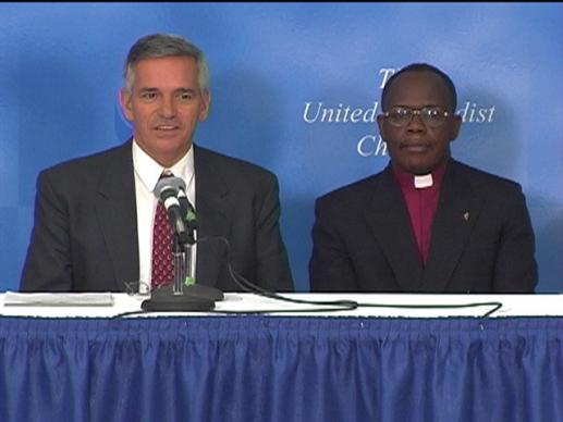 General Conference 2004: Cote d'Ivoire Motion. Video still by United Methodist Communications