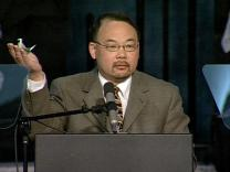 General Conference 2004: General Council on Ministries Report. Video still by United Methodist Communications