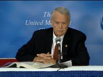 General Conference 2004: Homosexuality Debate. Video still by United Methodist Communications