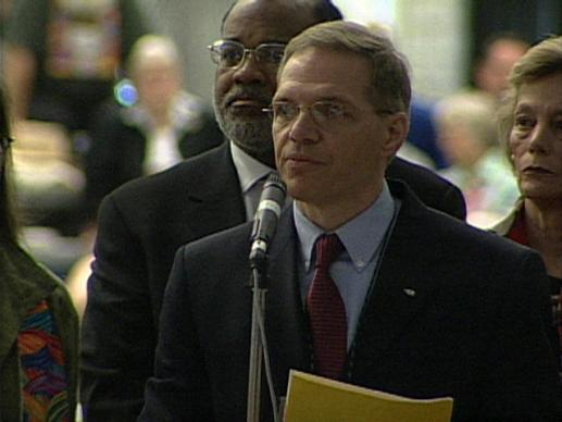 General Conference 2004: Unity Resolution. Video still by United Methodist Communications