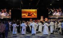 Opening communion worship at the United Methodist 2016 General Conference in Portland, Oregon