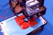 Video image of 3D printer from 2015 Game Changers Summit. Image courtesy of United Methodist Communications.