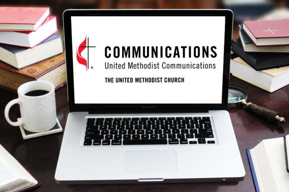 Your web presence is an important part of your ministry. Photo illustration by Kathyrn Price/Laurens Glass, courtesy of United Methodist Communications.