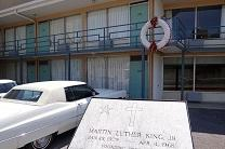 The Lorraine Motel (now a museum) is the site where Martin Luther King Jr. was assassinated in 1968. Photo by Adam Jones, Ph.D., Creative Commons, 2012.