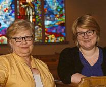 Marilyn Spurrell and her daughter, Amy Atkins, are pastors at Faith United Methodist Church in Fargo. David Samson, courtesy of Forum News Service. Edited by UMC.org.