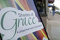 Shades of Grace is a United Methodist congregation in Kingsport, Tenn. comprised mainly of homeless people. Video image courtesy of United Methodist Communications.