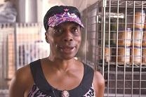 Sheila Washington talks about volunteering in feeding ministries at Church of the Village in New York City. Video image by United Methodist Communications.