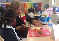 Volunteers from The Gathering United Methodist Church carry the Literacy Project throughout their city, helping St. Louis public school students improve their reading skills. Photo courtesy of The Gathering
