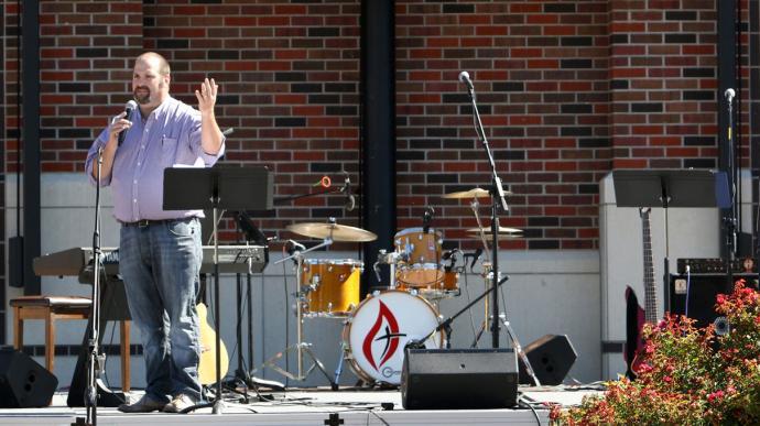 The Rev. Scott Jagodzinske. Photo courtesy of Kansas Wesleyan University