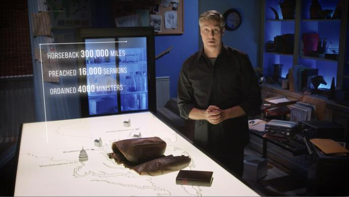 Josh Childs narrates the Emmy award-winning short documentary film,